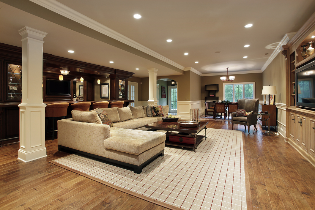 Advance contracting electrical services flint mi for Luxury basements